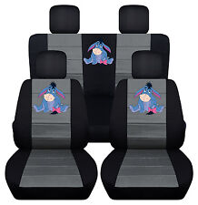 Front and Rear 2013 Kia Optima Seat Covers Swc and Tissue Box Cover Eeyore