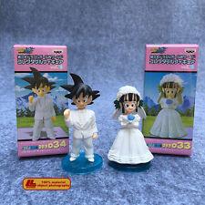 "Dragon Ball Z Son Goku & ChiChi 2pcs 3"" Figure set Wedding Cake Topper Gift Toy"