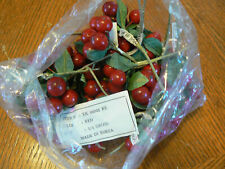 Artificial Red Berry Clusters 2 1/2