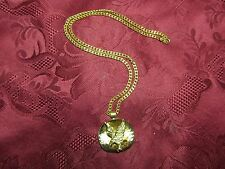 22k Gold Plated Diamond Cut Eagle Necklace