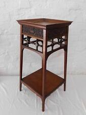 Mahogany Victorian Antique Furniture Stands