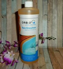 Orb-3 Solutions ~ Spa Enzymes Treats up to 16,000 Gallons ~ Fast Shipping