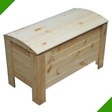 Coffre en bois Boîte en bois Coffre linge Coffre à jouets boîte de rangement
