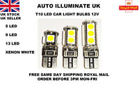 T10 501 W5W CAR LED LIGHT BULBS ERROR FREE CANBUS XENON WHITE SIDE LAMP 12V UK