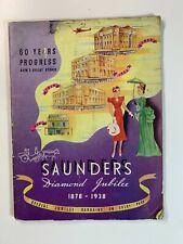 Vintage Catalogue - Sydney Saunders 1939