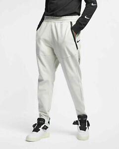 $110 NEW Nike Sportswear Tech Pack Tech Fleece Pants Bone Tan Joggers AR1550