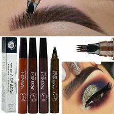 Eyebrow Tattoo Pen Waterproof Fork Tip Microblading Makeup Ink Sketch UK POST