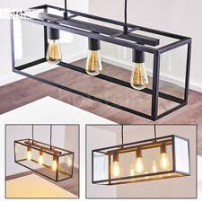 Lampe à suspension Retro Lustre Plafonnier Lampe pendante Lampe de séjour Métal