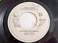 John Lennon Watching The Wheels / Yoko Ono Yes I'm 45 1980 Geffen Vinyl Record