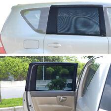 TFY Universal Car Rear Side-Rectengular Window Sunshades 31.5'' - 47'' Wx23'' H