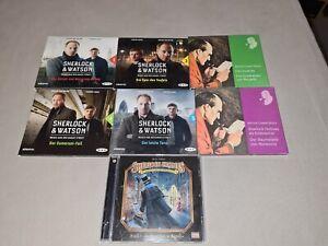 Sherlock Holmes + Sherlock & Watson Hörbuch/Hörspiel auf CD - 7 Hörbücher