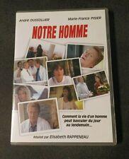 DVD Notre Homme ANDRÉ DUSSOLLIER - MARIE FRANCE PISIER (a3)