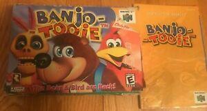Banjo-Tooie (Nintendo 64, 2000) Original Box + Manual NO GAME