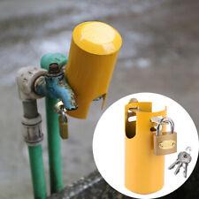 Jardin Garage Atelier Robinet Soupape Fermer Clé Cadenas Tap Lock Protecteur