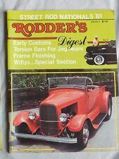 Street Rod Nationals 1981 Rodder's Digest #3