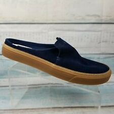 Toms Womens Sunrise Navy Suede Mule Sneakers Shoes Size 12 W