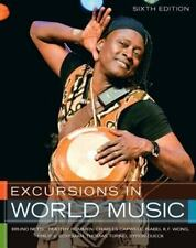 Excursions in World Music, 6th Edition Audio CD Set