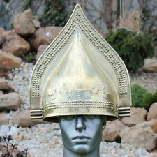 18GA SCA LARP Medieval Etruscan Crested Helmet Replica Helmet W/Liner Gift Y992