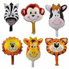 6PCS/SET Cartoon Jungle Animal Balloons Birthday Children Party Decorations Hot