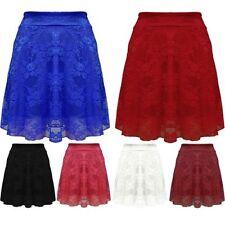 Polyester High Waist Skirts for Women