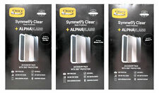 Otterbox Symmetry Clear Phone Case + Alpha Glass Protector  iPhone 11 Pro Promax