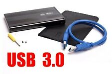 Festplattengehäuse 3.0 extern Aluminiu 2,5'' extern USB 3.0 High Speed SATA HDD