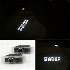 Range Rover LOGO LED PUDDLE PROJECTOR GHOST DOOR LIGHTS FOR Land Rover 2003-2017