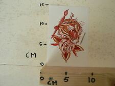 STICKER,DECAL TATTOO IMME BOEHME IMMEBOEHME.COM  TATTOO ? TIJGER TIGER