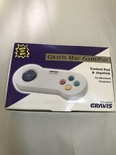 Gravis Mac only GamePad Control Pad And Joystick Vintage dated 1993 (D)