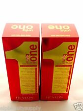 REVLON UNIQ ONE ALL IN ONE HAIR TREATMENT-5.1 OZ. 2 PACK FREE FAST1-3 DAY SHIPPI