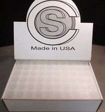 """""""COIN SAFE"""" SQUARE QUARTER TUBE 100 COUNT MADE IN THE U.S.A.  W/FREE SHIPPING!!!"""