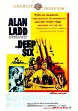THE DEEP SIX (1958 Alan Ladd) -  Region Free DVD - Sealed