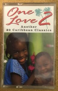 Various Reggae One Love 2 Another 20 Caribbean Classics NEW/SEALED Tape Cassette
