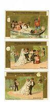 Full Set, Liebig (OXO) S146, Honeymoon (X6) 1883 EX (Gu369-322)