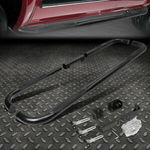 """FOR 99-11 CHEVY/RAM/GMC EXT/CREW CAB BLACK 3"""" SIDE STEP NERF BAR RUNNING BOARD"""