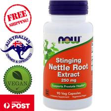 Now Foods Nettle Root Extract Stinging 250 mg 90 Vegan Caps for Prostate Health