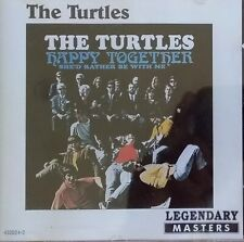 Turtles - Happy Together.  Aussie Legendary Masters Release  12 Track CD