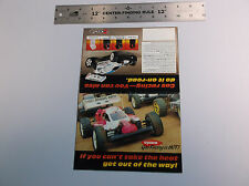 VINTAGE KYOSHO 1/8 & 1/10 SCALE R/C MODLE CAR & TRUCK WALL POSTER    *V-COND*