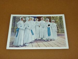 PHOTO CHOCOLAT COTE D'OR 1946 FOLKLORE BELGIQUE N°161 BERLAAR FILLES DE MARIE