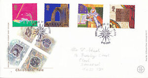 2 NOVEMBER 1999 CHRISTIANS TALE ROYAL MAIL FIRST DAY COVER St ANDREWS FIFE SHS a
