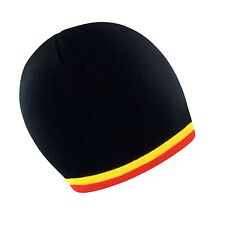 Soccer Football Team Woolly Beanie Hat In Partick Thistle Colours - One Size