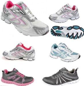 Ladies Dek Air Womens Ladies Running Casual Trainers Size 3,4,5,6,7,8