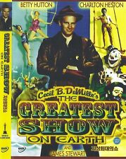 The Greatest Show on Earth (1952) Cecil B. DeMille DVD NEW *FAST SHIPPING*
