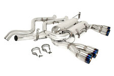 Megan Stainless Steel Axleback exhaust BMW E92 M3 08-13 Coupe Burnt Roll tip