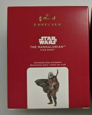 Hallmark Keepsake The Mandalorian Christmas Ornament 2020 Star Wars Ships Today