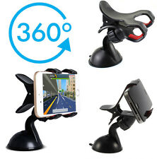 360°CAR WINDSCREEN SUCTION MOUNT HOLDER CLIP CRADLE FOR MOBILE PHONE PDA SAT NAV