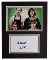 Tamsin Greig Signed Autograph 10x8 photo display Friday Night Dinner AFTAL COA