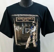VTG 90's t shirt XL Cowboy Ghost Town ARIZONA tourist GOLDFIELD Wild West World