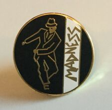 MADNESS DANCING MAN NUTTY BOYS SKA REGGAE ENAMEL PIN BADGE - RARE
