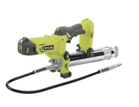 Ryobi 18V ONE+ Grease Gun - Skin Only-Long 76cm hose